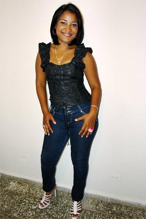 Chiffre Nr. 0339 - Anyeli G. ist 23 Jahre
